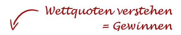 Wettquoten Kalkulation Mehr als/ Weniger als X Tore