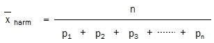Harmonischer Mittelwert-2