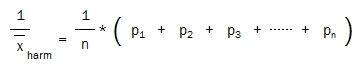 Harmonischer Mittelwert-Kehrwerte-2