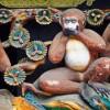 WikiCommons: Three wise monkeys, Tōshō-gū Shrine, Nikkō / Drei Affen