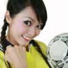 Sexy Asian Female: Soccer Fan / Sexy Asiatische Frau: Fußballfan