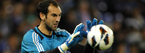 Diego Lopez von Real Madrid in Barcelona, Spanien