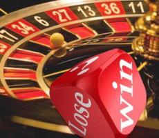 Win/Lose on Dice & Roulette Wheel / Win/Lose auf Würfel und Roulette-Rad