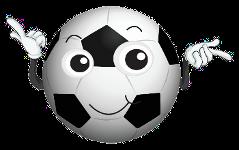 Lächelnder Fußball (Comic)