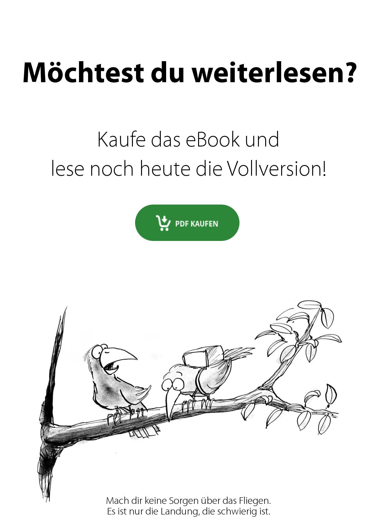 Buchvorschau: Wettkurs - Vögel mit Fallschirmen